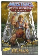 HE-MAN Masters of the Universe Classics & Modern