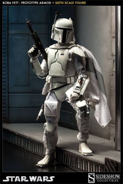 Sideshow Collectibles Boba Fett  Prototype Armor  Scum And