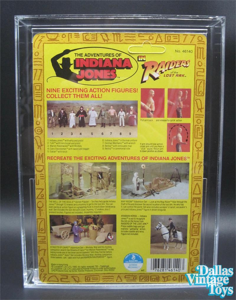 1982 kenner indiana jones raiders of the lost ark 9 back b series 2018 dallas vintage toys we buy sell and trade vintage and modern toys gumiabroncs Gallery