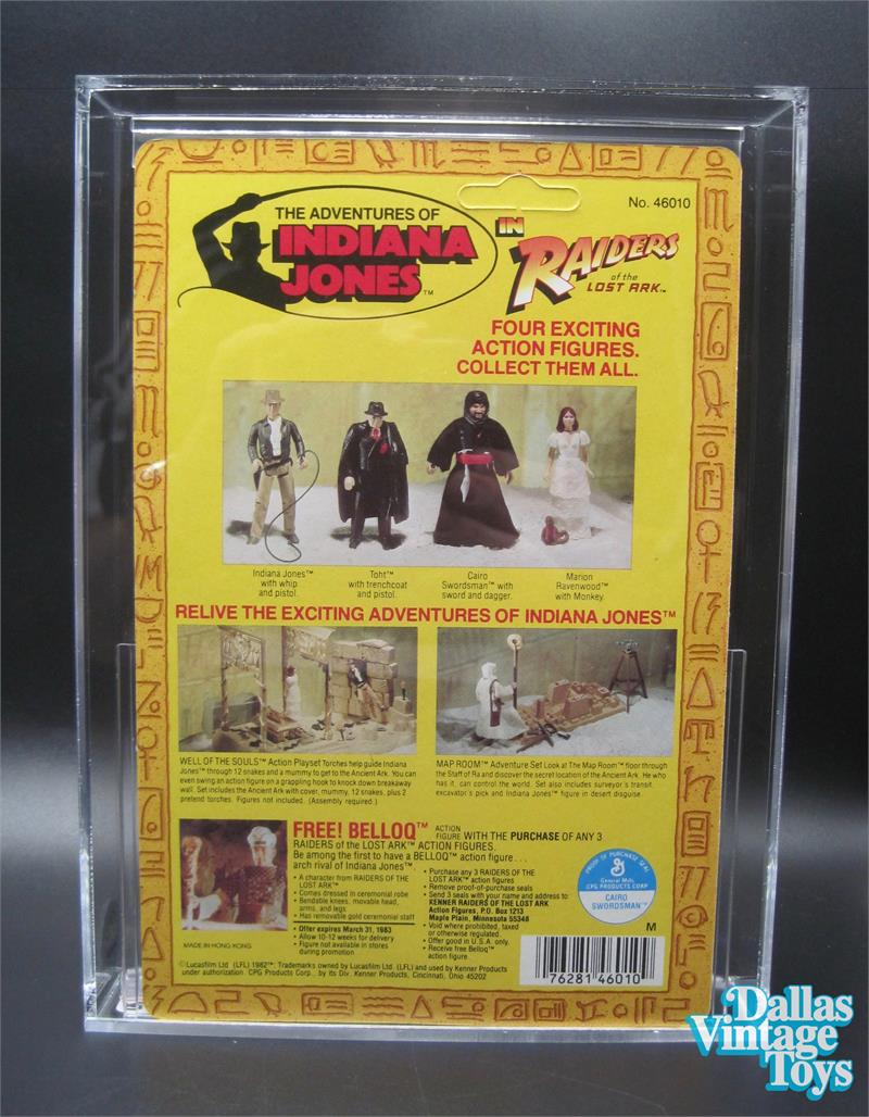 1982 kenner indiana jones raiders of the lost ark 4 back series 1 2018 dallas vintage toys we buy sell and trade vintage and modern toys gumiabroncs Image collections