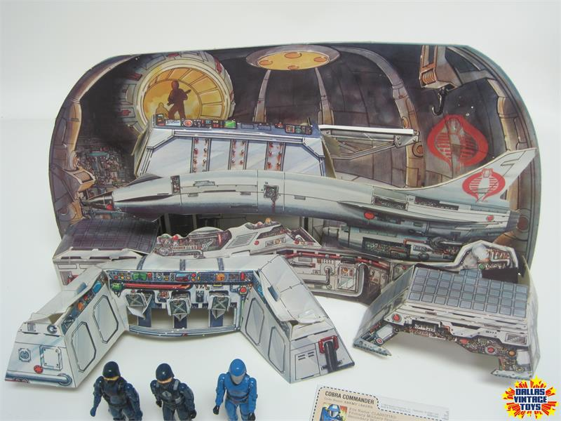 1982 Hasbro GI Joe Cobra Missile Command Complete with ...