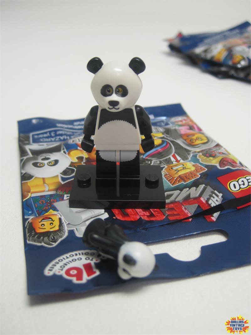 2014 Lego Minifigures Lego Movie Blind Bags 15 Panda Guy 1b