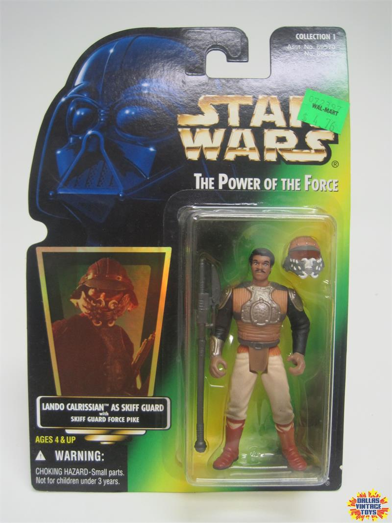 1996 Kenner Star Wars Power Of The Force Lando As Skiff