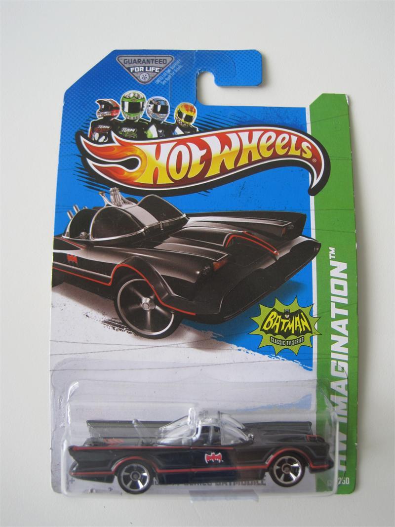 Mattel 2012 Hot Wheels Classic TV Series Batmobile