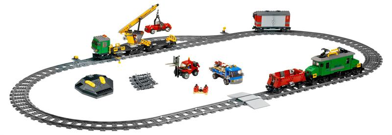 Lego City Train Deluxe Set