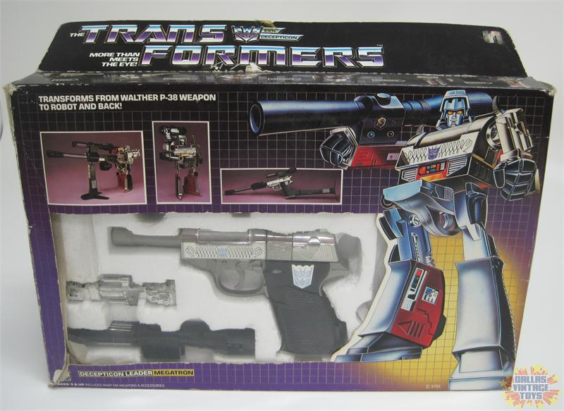 Western Bedroom Tank Toy Box Or: 1984 Hasbro Transformers G1 Megatron With Box