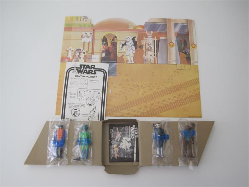 1978 Kenner Star Wars Playset Cantina Adventure Set Sears