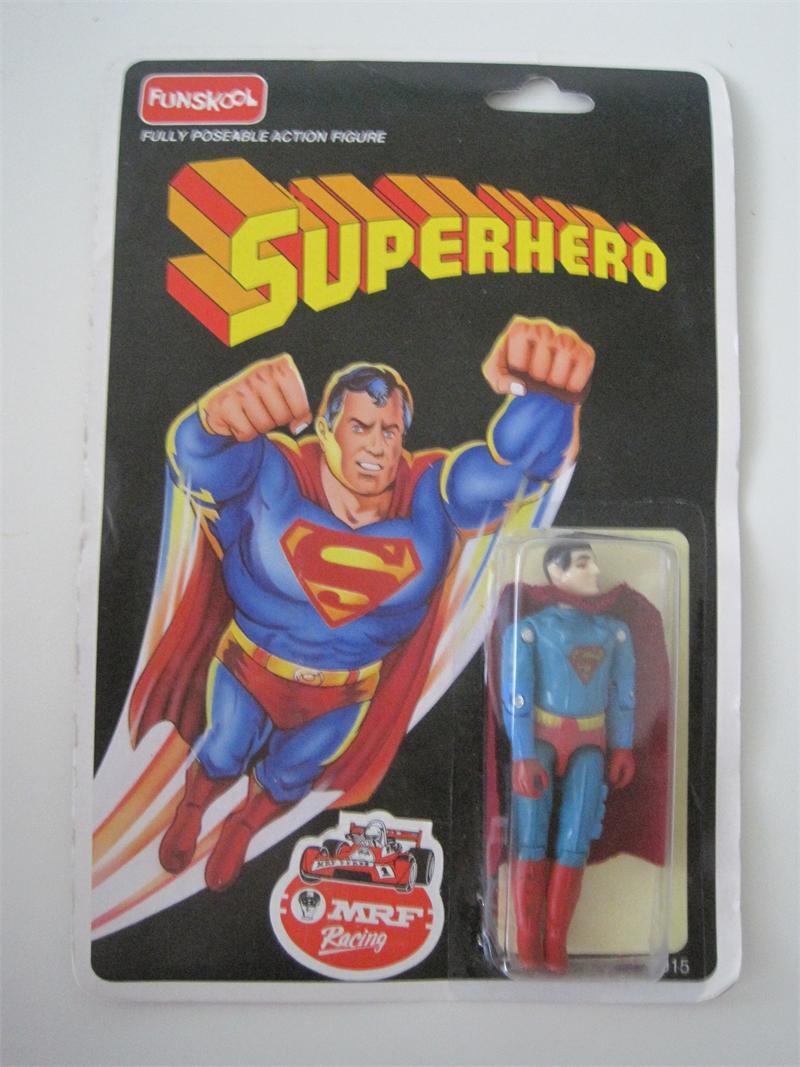 1992 Funskool India Gi Joe Superhero Superman