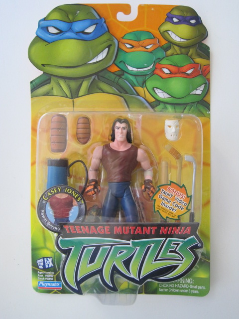 Teenage Mutant Ninja Turtles 2003 Toys : Teenage mutant ninja turtles tmnt casey jones