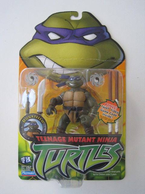Teenage Mutant Ninja Turtles 2003 Toys : Teenage mutant ninja turtles tmnt donatello