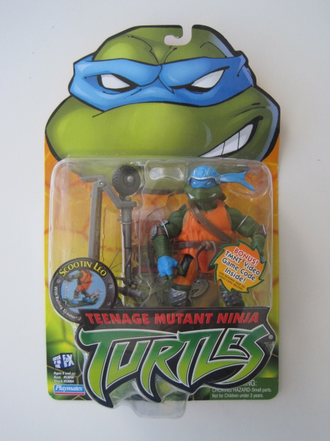 Teenage Mutant Ninja Turtles 2003 Toys : Teenage mutant ninja turtles tmnt scootin leonardo