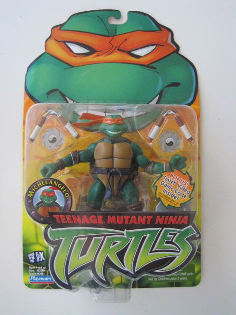 Teenage Mutant Ninja Turtles 2003 Toys : Teenage mutant ninja turtles tmnt michaelangelo