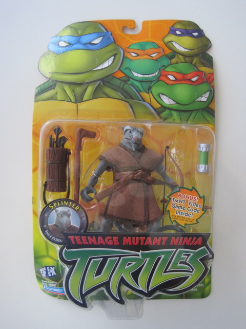 Teenage Mutant Ninja Turtles 2003 Toys : Teenage mutant ninja turtles tmnt splinter