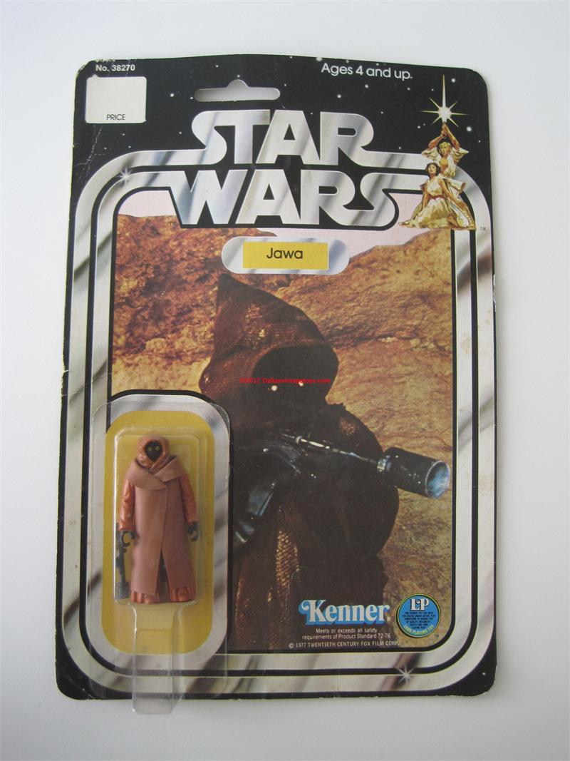 1978 Kenner Star Wars 12 Back Vinyl Cape Jawa Moc