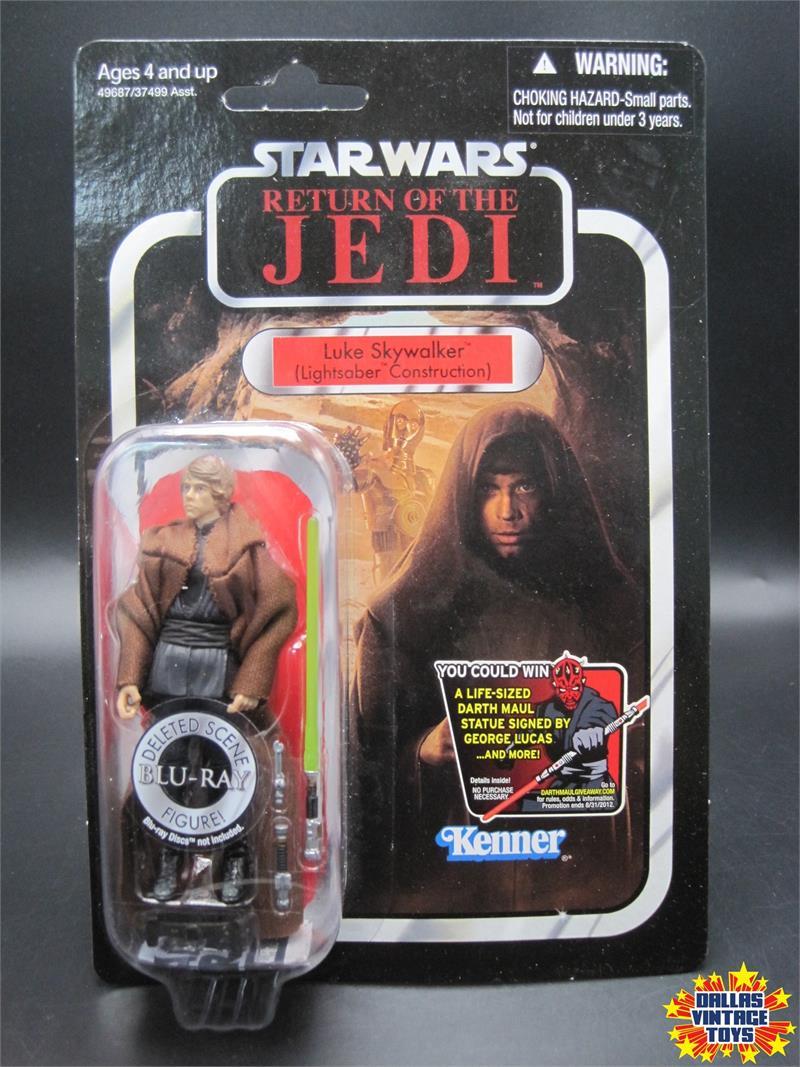 2012 Hasbro Star Wars Vintage Collection Vc87 Luke Skywalker Lightsaber Construction 1k