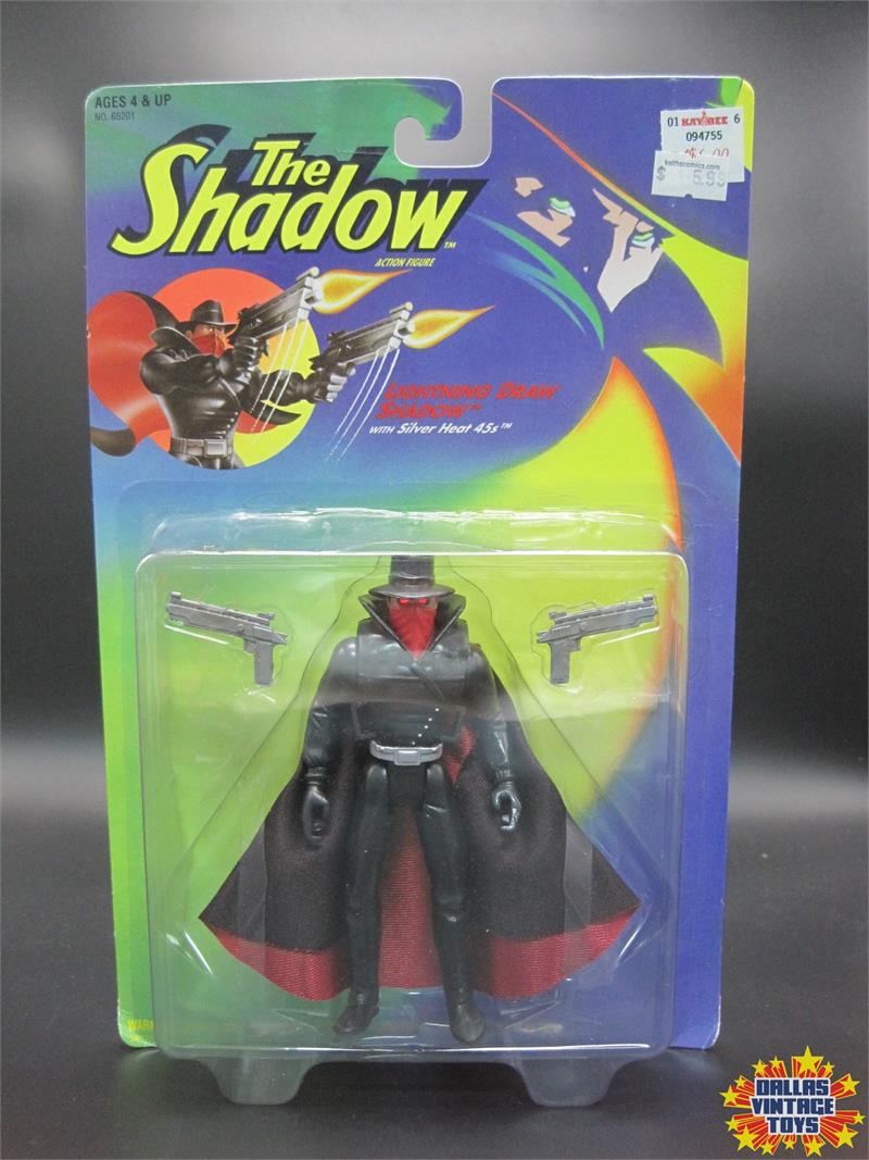 1994 Kenner The Shadow Lightning Draw Shadow  1a