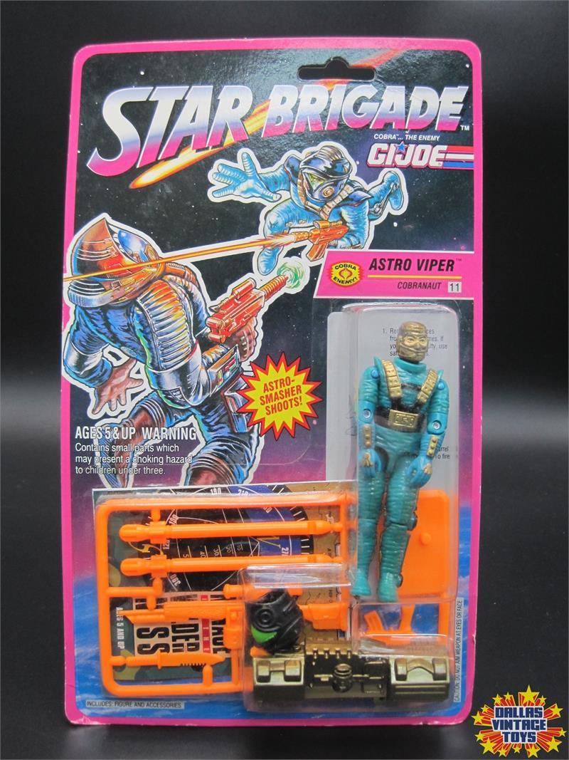 GI Joe 1993 Star Brigade ASTRO-VIPER Gun