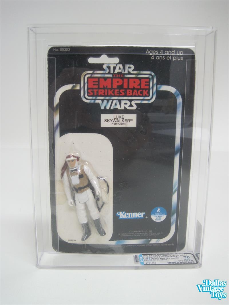 Vintage Star Wars ESB Kenner 3 3//4 Luke Hoth Rifle Gun Weapon Accy NO REPROS
