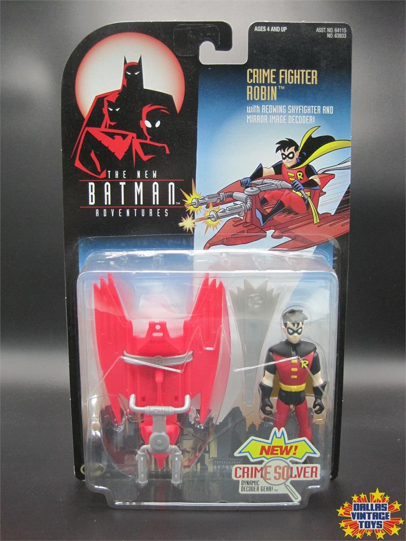 1997 Kenner Batman /& Robin Triple Strike Robin Action Figure New In Unopened Package