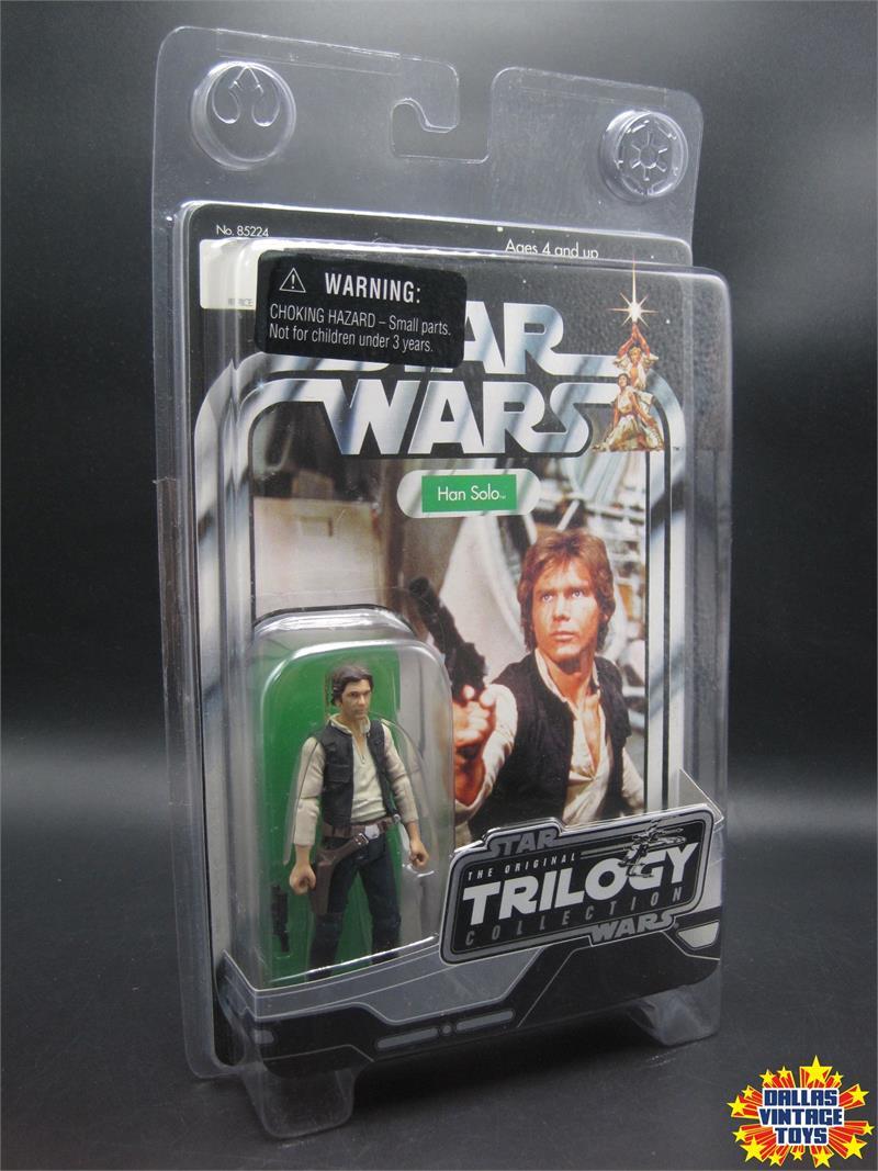 Star Wars Han Solo 2004 Vintage Original Trilogy Collection VOTC Kenner Hasbro