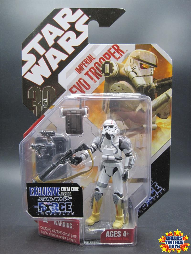 STAR WARS TAC 30TH ANNIVERSARY SERIES #09 IMPERIAL EVO TROOPER FORCE UNLEASHED