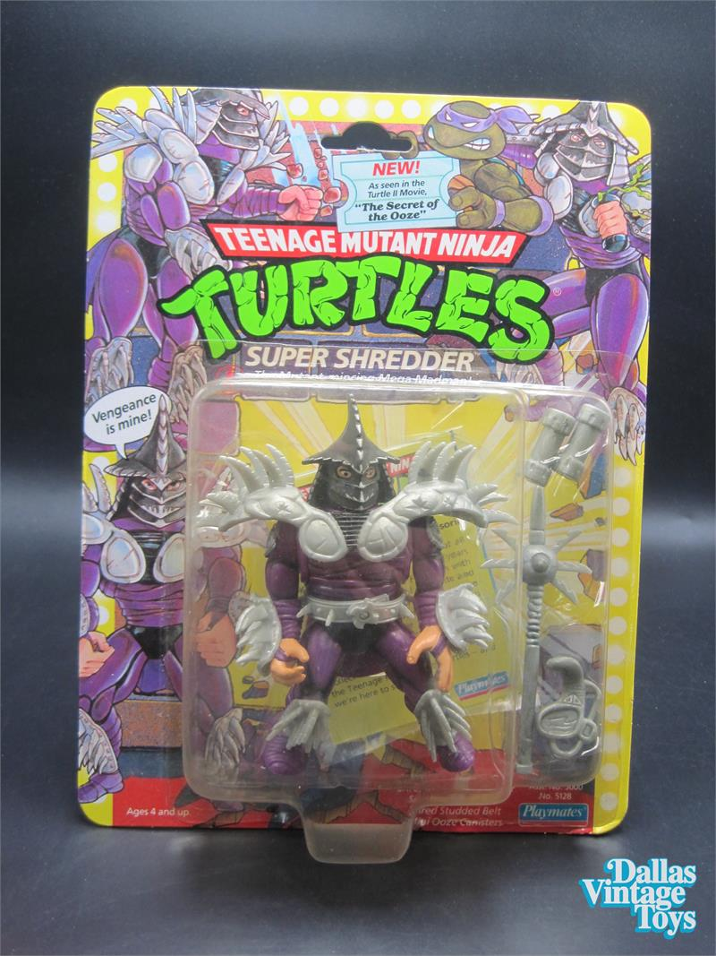 1991 Super Shredder TMNT Teenage Mutant Ninja Turtles Ooze Canister