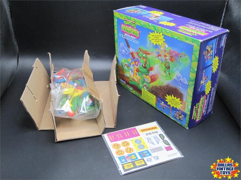 Teenage Mutant Ninja Turtles Mutations Muta-Bike Playmates 1992 Toy Vintage