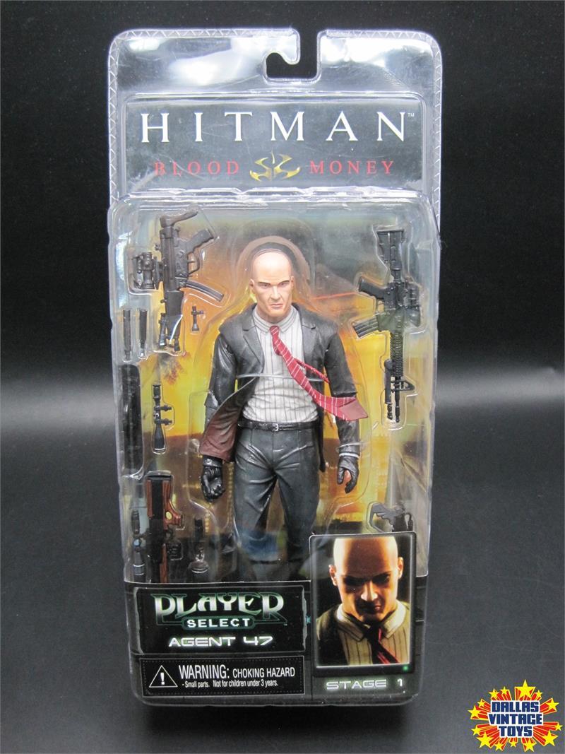 2006 Neca Player Select Hitman Blood Money Agent 47 1a