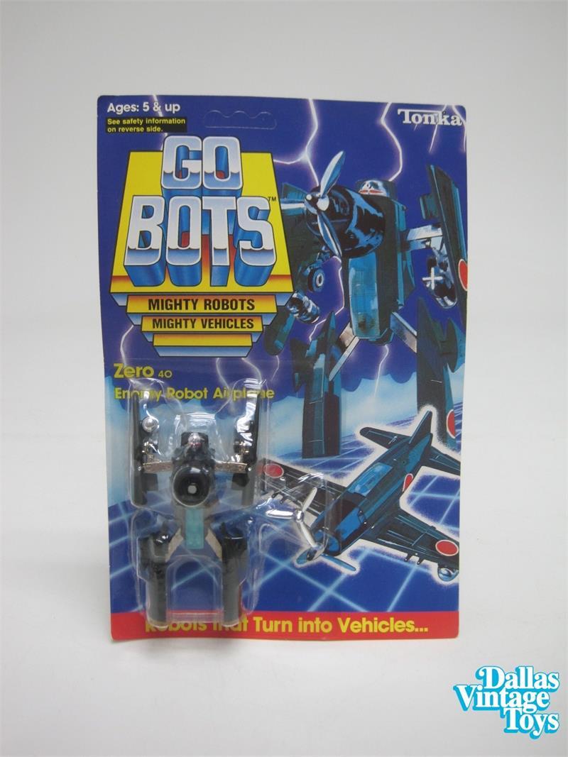 1984 Tonka Go-Bots ZERO 40 Enemy Robot Airplane (40A)