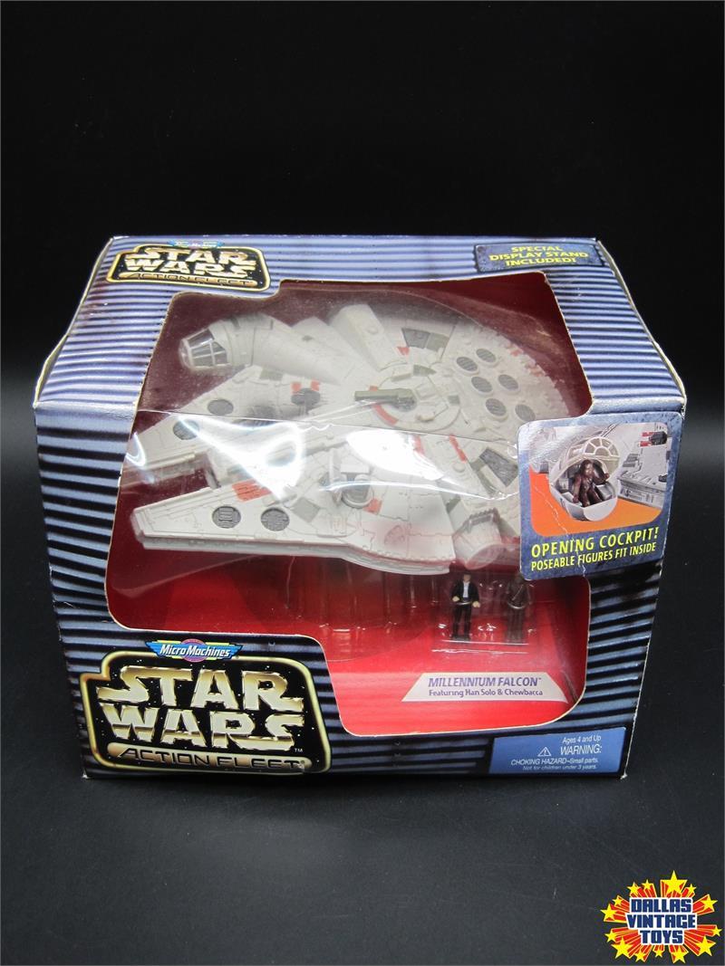 Micro Machines Star Wars Action Fleet Han Solo V4