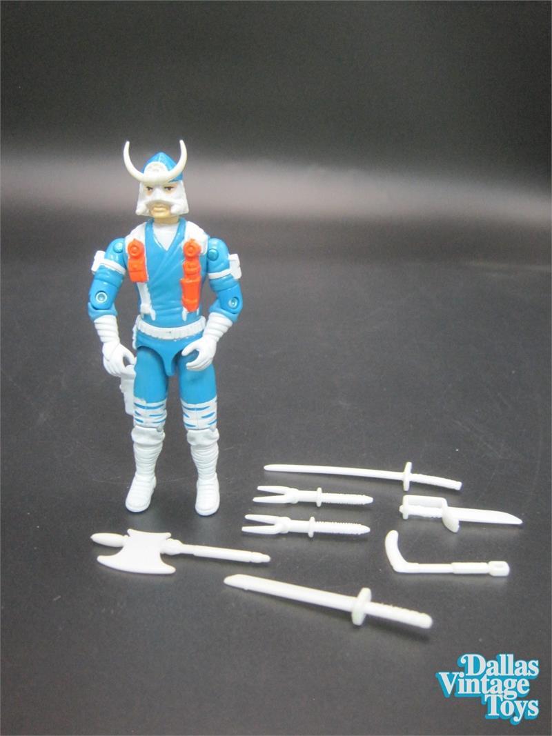 1993 GI Joe Ninja Force Bushido Snow Ninja (424B)