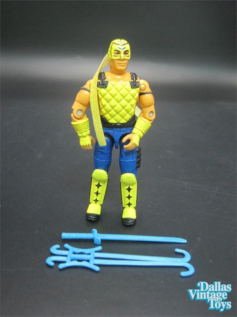 1992 Hasbro GI Joe Ninja Force T'Jbang (327G)