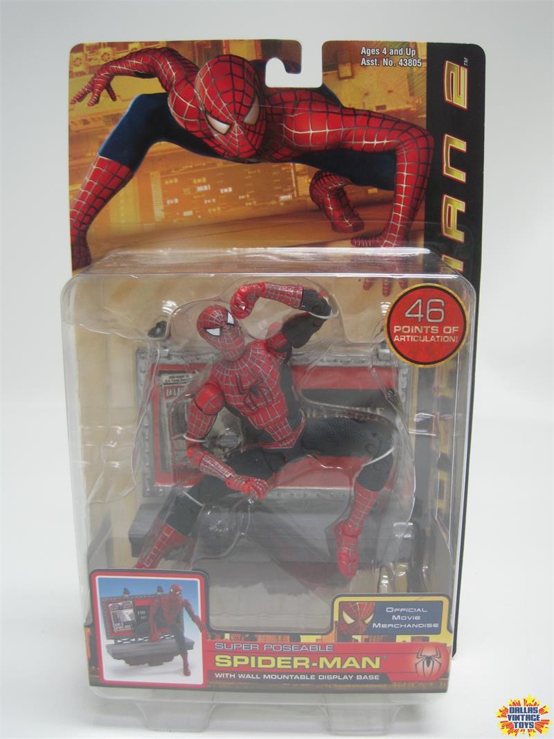 "ToyBiz Marvel 2002 sautant Spider-Man Movie Series 2 6/"" Action Figure New in package"