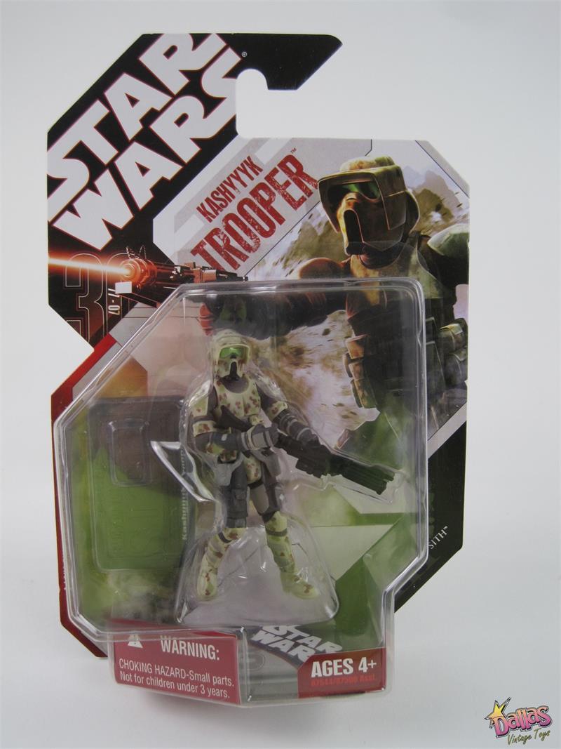 Kashyyyk Trooper 2007 STAR WARS 30th Anniversary MOC #04 4