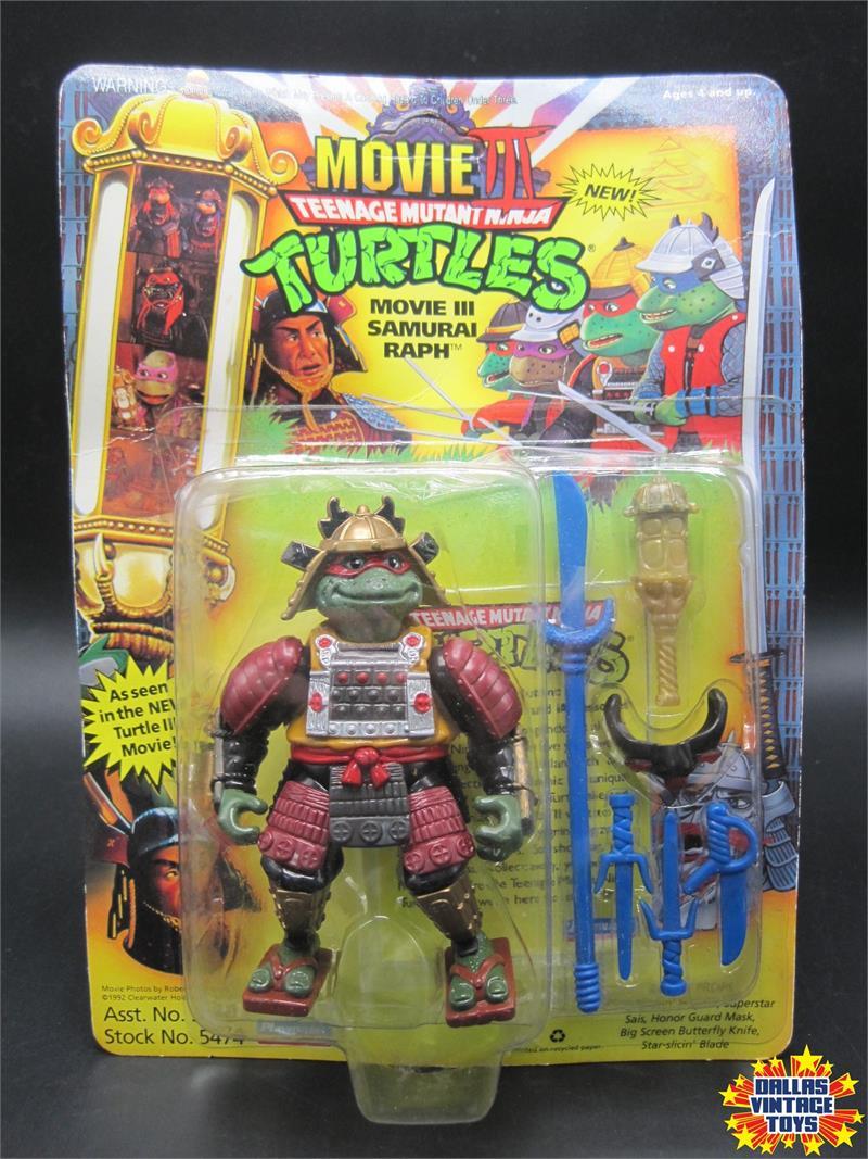 1993 Playmates Teenage Mutant Ninja Turtles Movie 3 Samurai