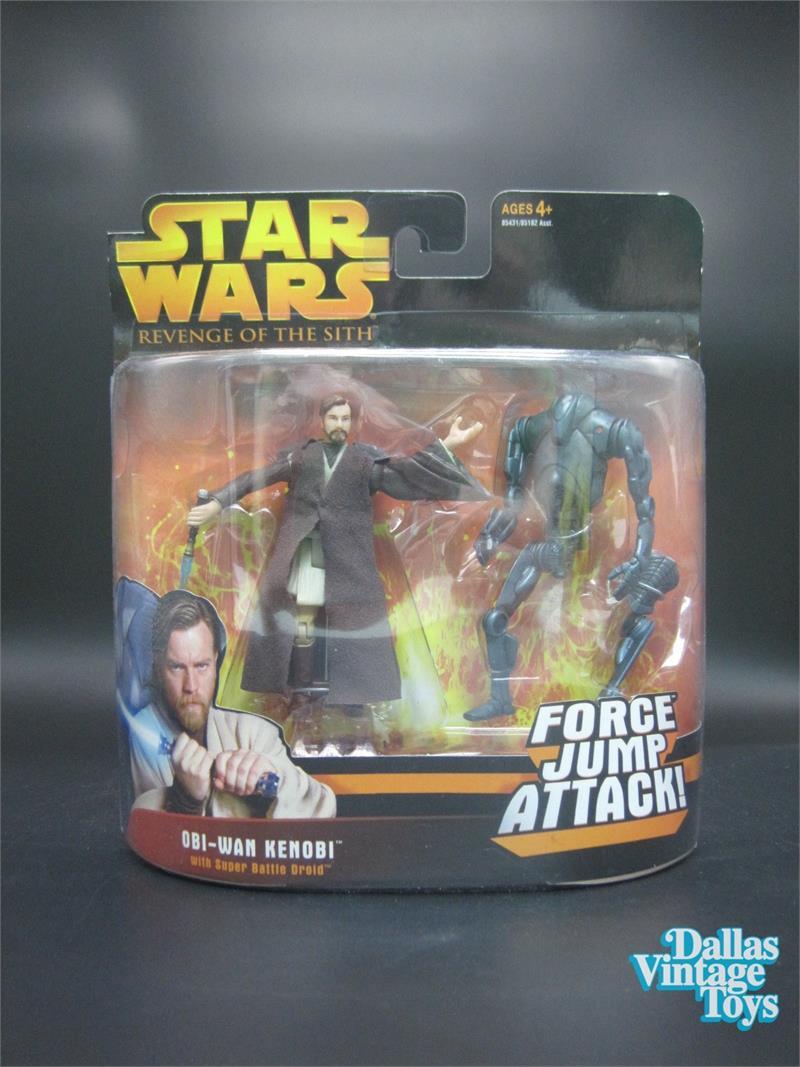 Star Wars 2005 Revenge of the Sith Super Battle Droid Action Figure ROTS