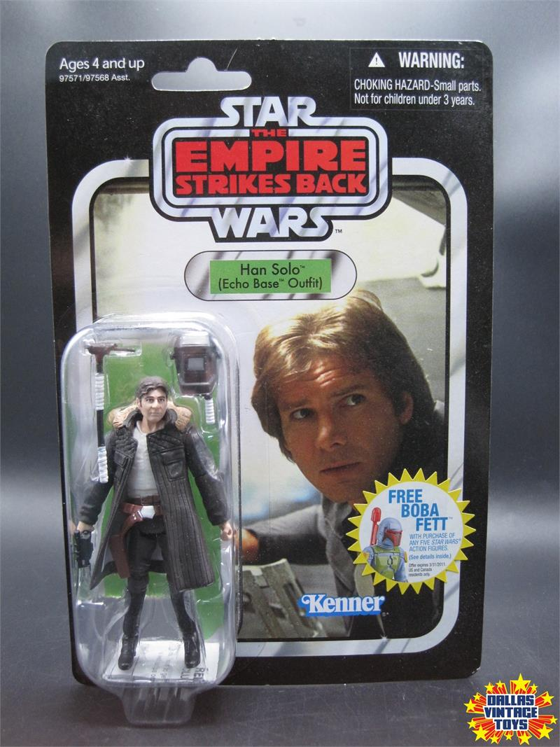ECHO BASE VC03 épisode V 3.75 wave 5 Comme neuf IN BOX STAR WARS Collection Vintage Han Solo