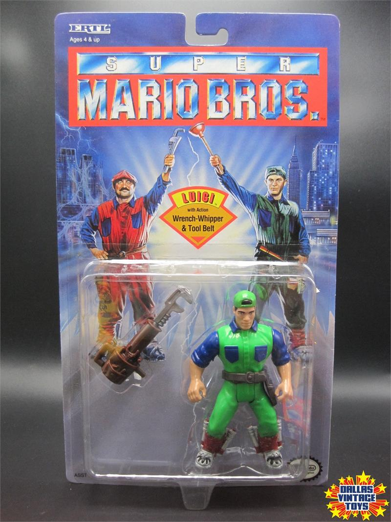 1993 Ertl Super Mario Bros Movie Luigi 1a