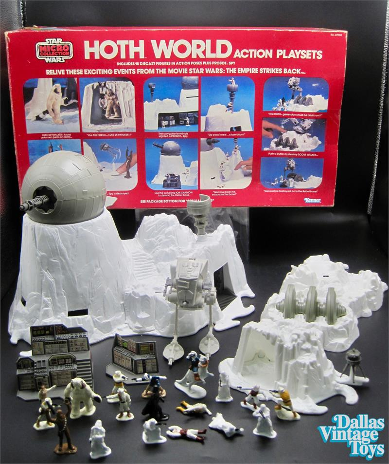 1980 Kenner Star Wars Micro Collection The Empire Strikes