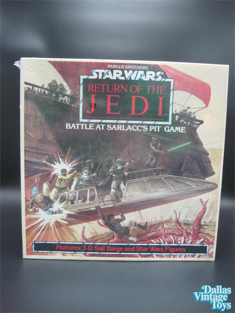 1983 Parker Brothers Star Wars ROTJ Battle at Sarlacc's Pit