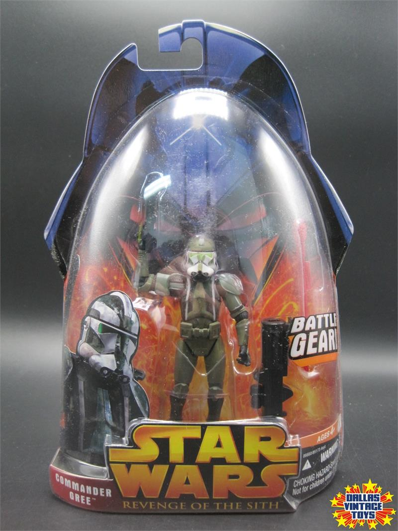 2005 Hasbro Star Wars Revenge of the Sith Commander Gree