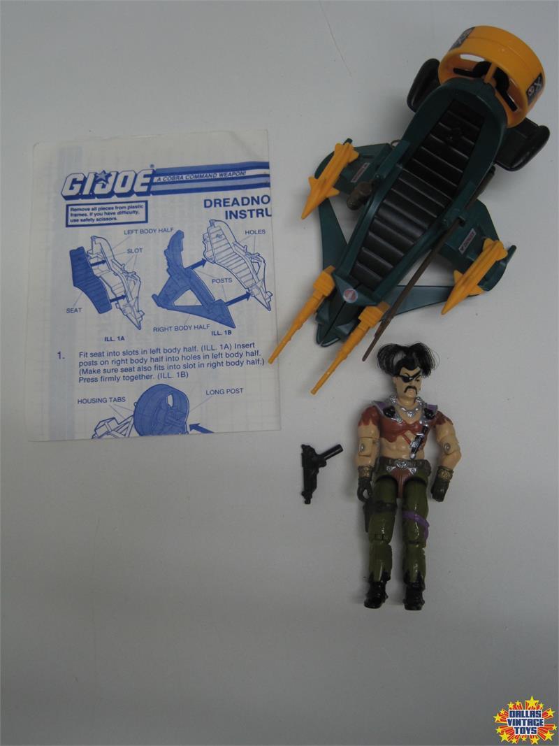 GI Joe 1987 DREADNOK AIR SKIFF Seat