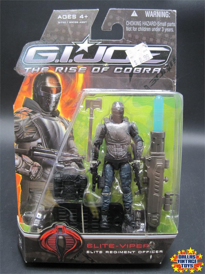 """Joe The Rise of Cobra Movie 4/"""" Action Figure 09 I3 Elite Viper G.I"""