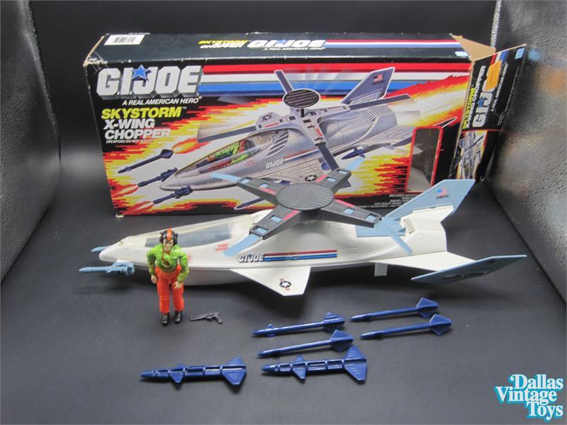 1988 G.I Joe Skystorm Blue Missile