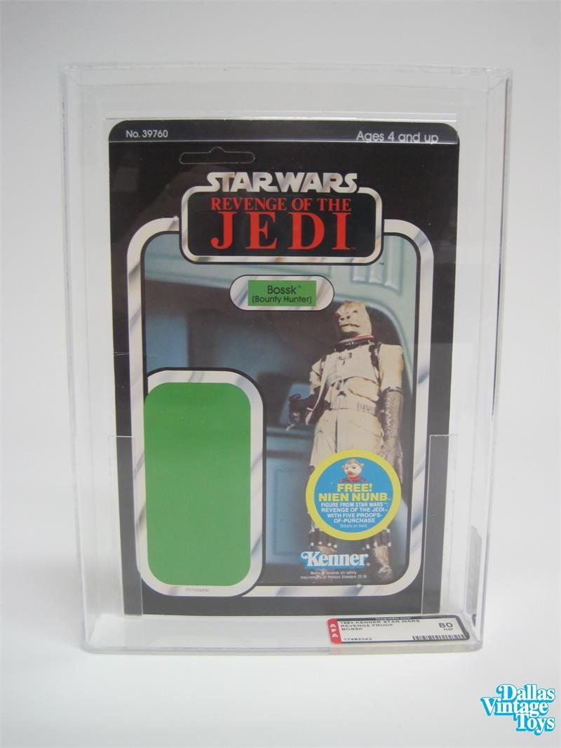 1983 Kenner Star Wars Revenge Of The Jedi Proof Bossk Afa 80