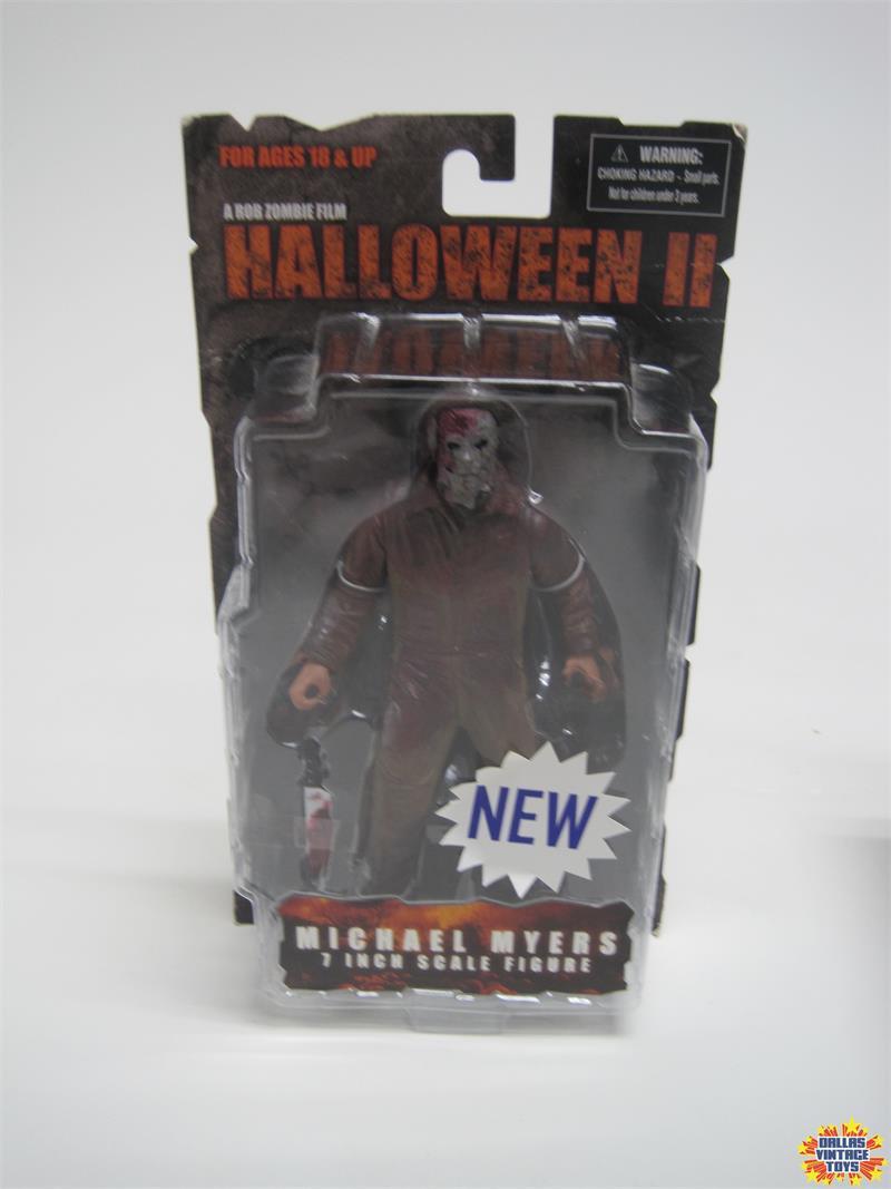 Mezco Michael Myers Halloween Figure 2020 2009 Mezco Rob Zombie's Halloween 2 Michael Myers 7 inch figure