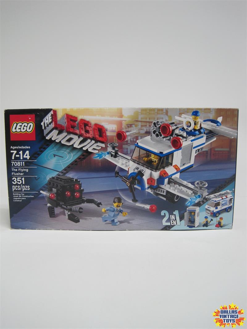 2014 The Lego Movie Set 70811 The Flying Flusher 1a