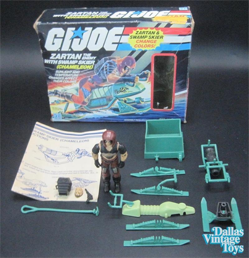 GI Joe 1984 Zartan Chameleon Crate.