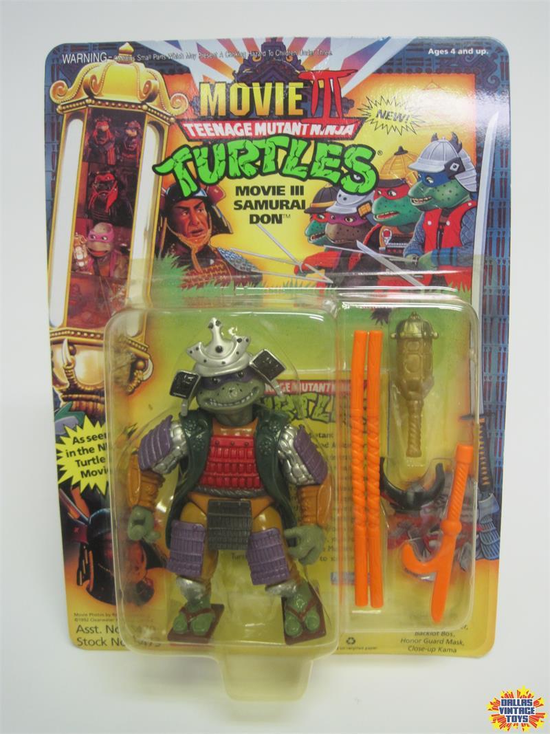 1992 Playmates Teenage Mutant Ninja Turtles Movie 3 Samurai