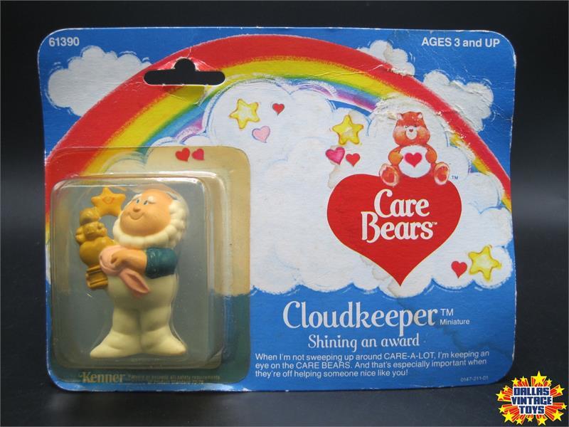 Vintage 1984 Cloud Keeper 4 PVC Action Figure Care Bears